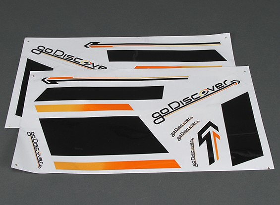 HobbyKing Go Discover FPV 1600mm - Decal