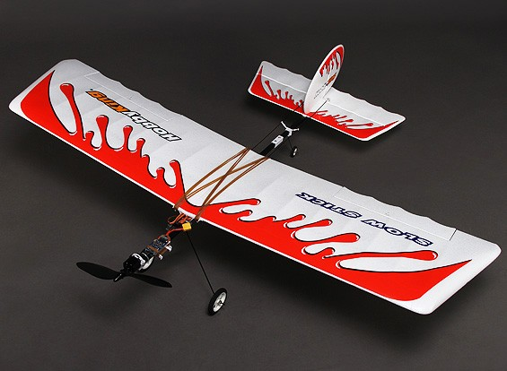 HobbyKing® ™ Slow Stick Brushless Powered Airplane EPO/Carbon Fiber 1160mm (PNF)