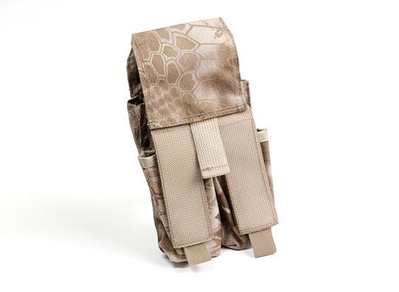 SWAT Molle Double Stack Mag pouch M4/Pistol (Kryptek Nomad)