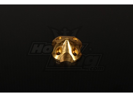3DSpinner for HP-50 / DLE55 / DA50 / JC51 (41x41x26mm) Gold