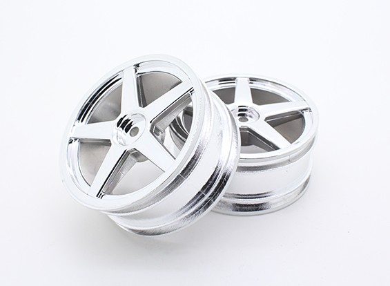 Toxic Nitro - Front Chromed Wheel