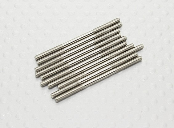 M2 x 35mm Steel Push Rod (10pc)