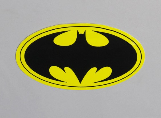 Bat Decal 140mm x 85mm