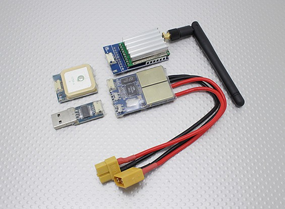 Skylark All-in-1 OSD (2.4G TX) 500mW with Camera and GPS