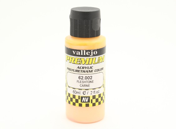 Vallejo Premium Color Acrylic Paint - Fleshtone (60ml) 62.002