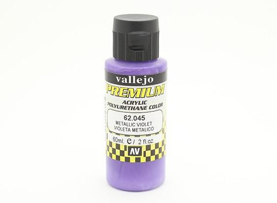 Vallejo Premium Color Acrylic Paint - Metallic Violet (60ml) 62.045