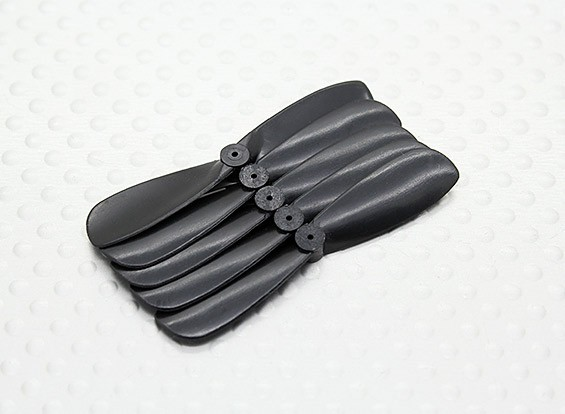45mm Pocket-Quad Prop CW Rotation (From Rear) - Black (5pc)