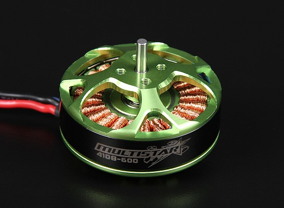 4108-600KV Turnigy Multistar 22 Pole Brushless Multi-Rotor Motor With Extra Long Leads