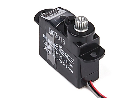 Blue Arrow 3g  High Speed Digital MG Micro Servo 20T .50kg / .06sec/60deg
