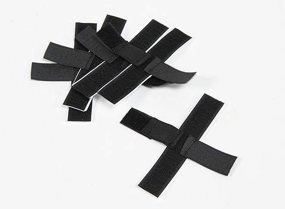 Hook & Loop  Elastic Securing Strap (Self Adhesive) (5pcs)