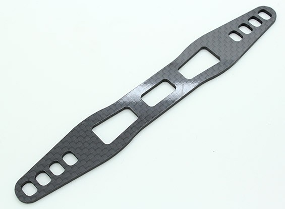 Battery Holder Plate (Carbon) - Trooper SCT