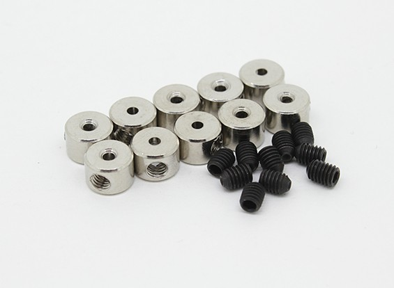 Landing Gear Wheel Stop Set Collar 6x1.1mm (10pcs)