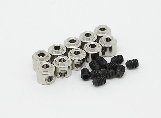 Landing Gear Wheel Stop Set Collar 6x1.8mm (10pcs)
