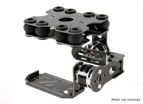 Shock Absorbing 2 Axis Brushless Gimbal Kit for Action Cam