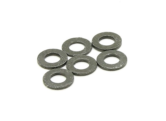 Washers 3.7x7x0.6mm (6pcs) - BSR 1/8 Rally