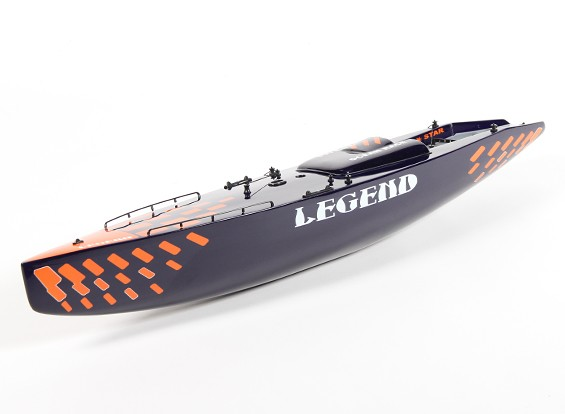 RC Sailboat Legend - Hull (Includes Two Servos)