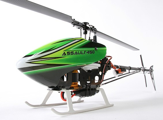 Assault 450 DFC Flybarless 3D Electric Helicopter (B&F)