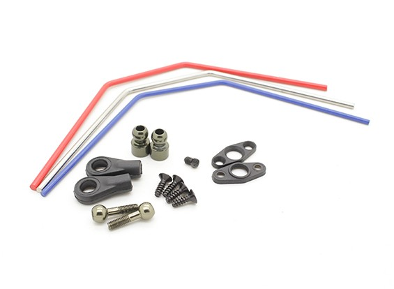 Basher Nitro Circus MT, SaberTooth Truggy - Front sway bar set