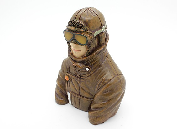 World War 1 British Pilot (Style 1) (H115 x W84 x D55mm)