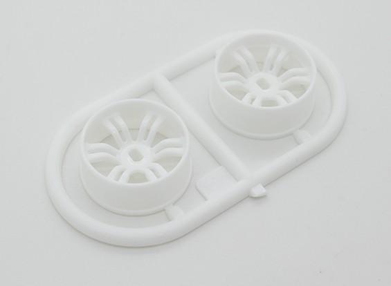 Front Wheel Set (offset -2.50) - Turnigy TZ4 AWD