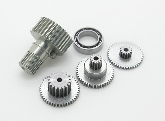 Replacement Gear Set For RJX FS-0391HV Metal Gear Mid-Size Tail Servo