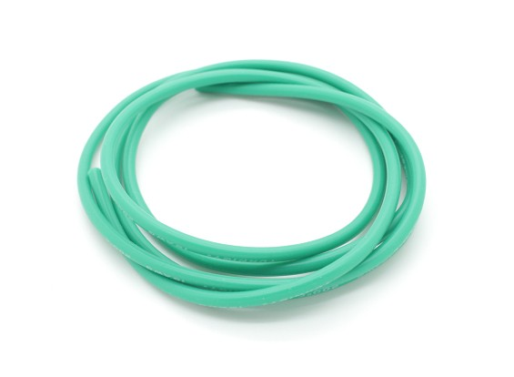 Turnigy Pure-Silicone Wire 16AWG 1m (Green)