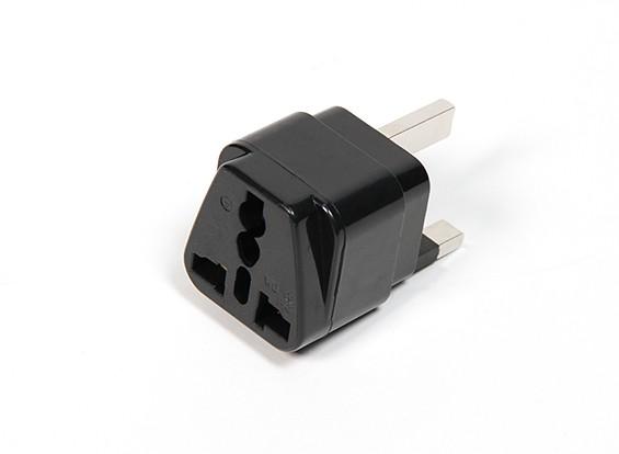 Fused 13 Amp Mains Power Multi Adapter (UK Plug)
