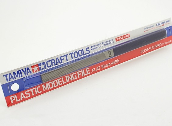 Tamiya Plastic Modeling File (Flat 10mm)