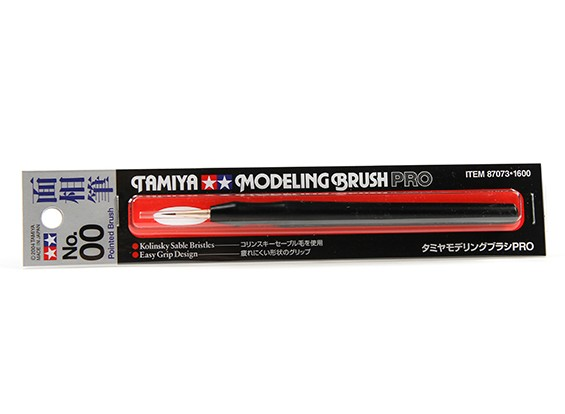 Tamiya Modeling Brush Pro (Pointed No.00)