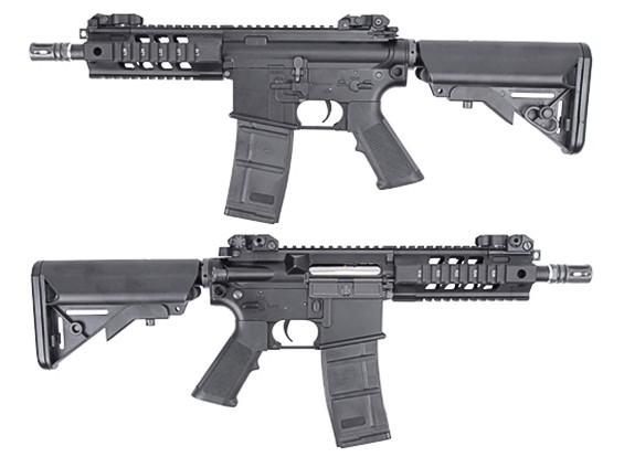 King Arms 516 PDW AEG (Black, Short Ver.)