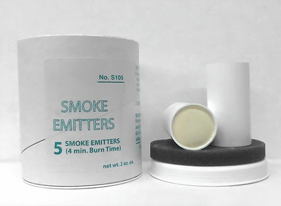 4 Minute White Smoke Cartridges (5pcs)