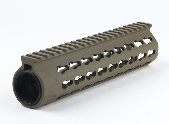 Dytac UXR4 8.5inch Rail for Systema PTW Profile (1 1/4 inch /18 , Dark Earth)