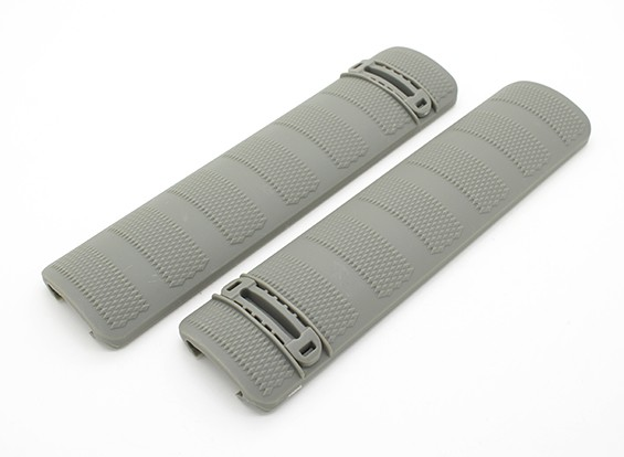 Dytac Battel Rail Cover (Foliage Green, 2pcs/bag)