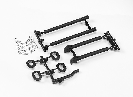Body Mount Set - The Devil 1/10 4WD Drift Car