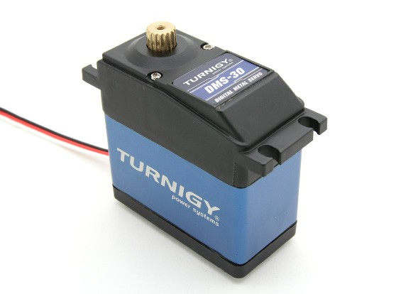 Turnigy™ DMS-30 1/5 Scale Truck/Buggy HV/BB/MG Steering Servo 17T 35kg / 0.16sec / 188g