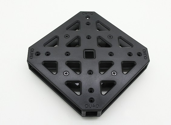 RotorBits QuadCopter Mounting Center (Black)