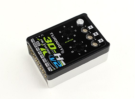 Turnigy 3D-H V2 3-Axis Flybarless Helicopter Control System w/S.BUS