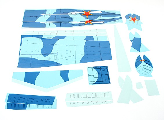 Yak-9 GP/EP - Covering Set