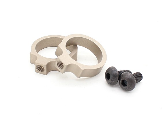 Element EX313 LR Tactical Flashlight Mount rings 0.76 inch (TAN, 2pcs/pack)
