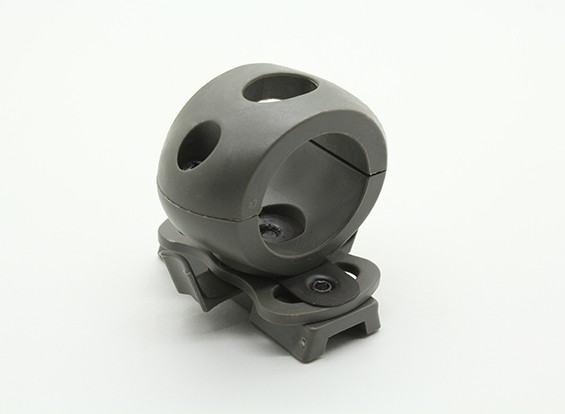 FMA 25mm Flashlight mount for Railed Helmet (Foliage Green)
