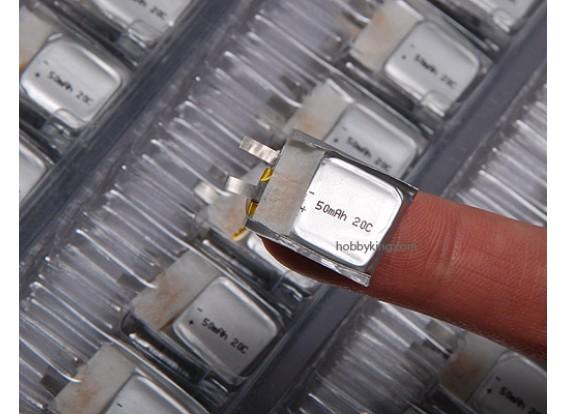 ZIPPY 50mAh 20C single cell