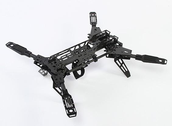 HobbyKing® Predator 650 Folding Quad-Copter Carbon Fiber Version (Kit)