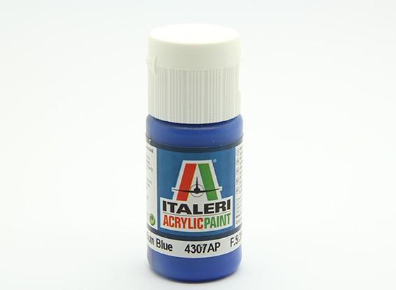 Italeri Acrylic Paint - Flat Medium Blue (4307AP)
