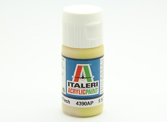 Italeri Acrylic Paint - Flat Light Flesh (4390AP)