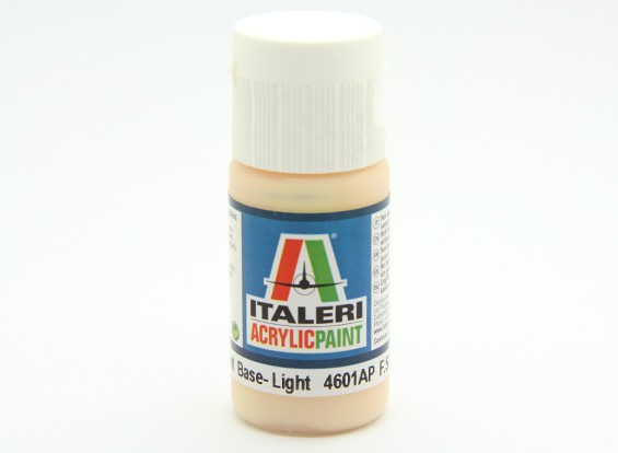 Italeri Acrylic Paint - Flat Skin Tone Tint Base Light (4601AP)