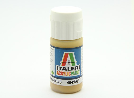 Italeri Acrylic Paint - Flat Giallo Mimetico 3 (4645AP)