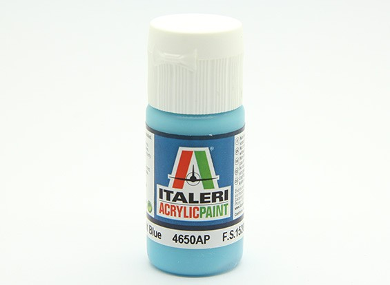 Italeri Acrylic Paint - Gloss Light Blue (4650AP)