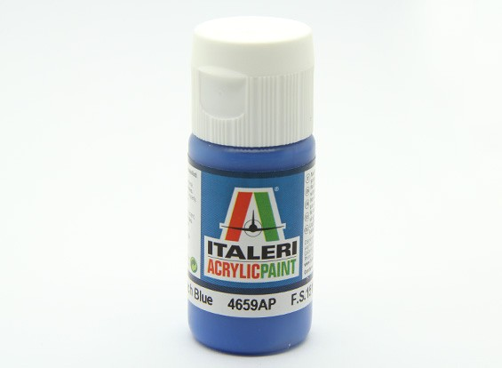 Italeri Acrylic Paint - Gloss French Blue (4659AP)