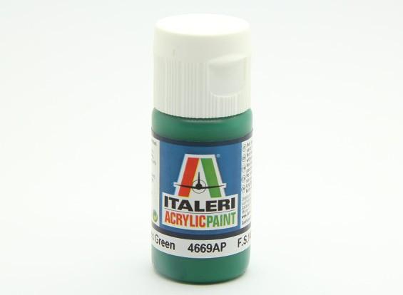 Italeri Acrylic Paint - Gloss Green (4669AP)