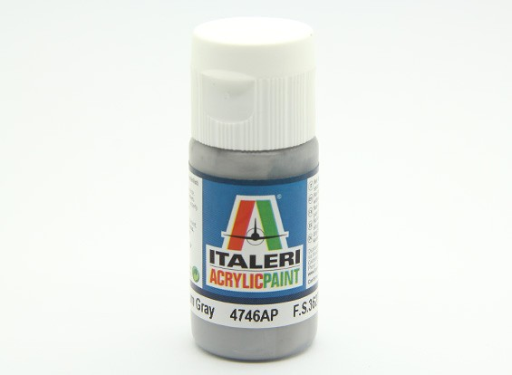 Italeri Acrylic Paint - Flat Medium Gray (4746AP)